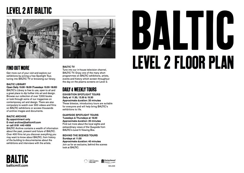 BALTIC Level 2 Floor Plan