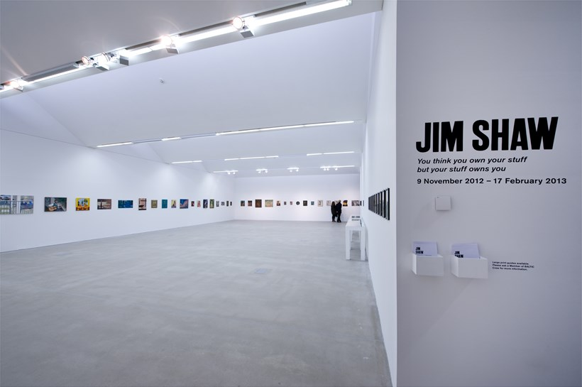 Jim Shaw: You think you own your stuff but your stuff owns you: Installation Image (01)