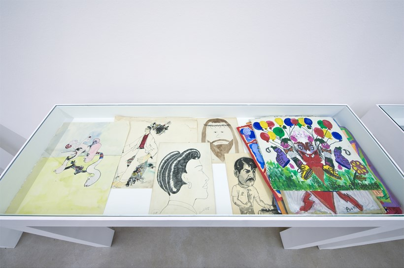 Jim Shaw: You think you own your stuff but your stuff owns you: Installation Image (05)