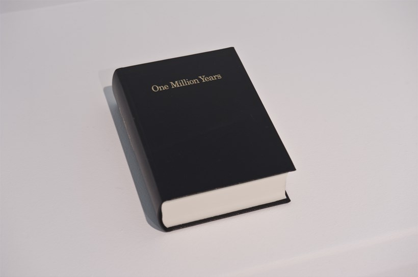 On Kawara: One Million Years: Installation Image (03)