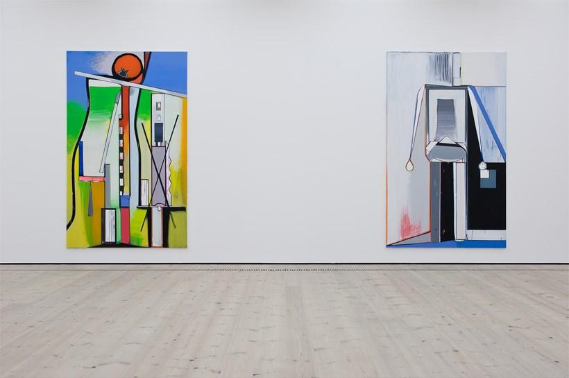 Thomas Scheibitz: ONE-Time Pad: Exhibition Image (05)