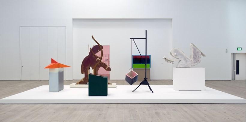 Thomas Scheibitz: ONE-Time Pad: Exhibition Image (08)