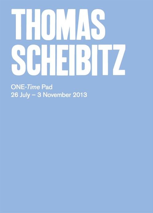 Thomas Scheibitz: ONE-Time Pad: Exhibition Guide