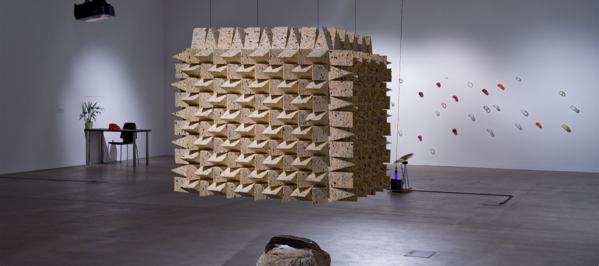 Listening: Hayward Touring Curatorial Open: Installation View: Photo: Colin Davison