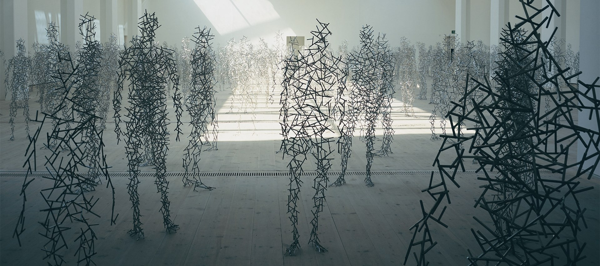 Antony Gormley: Domain Field