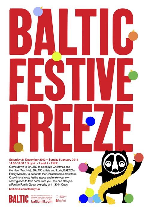 BALTIC Festive Freeze: 2013: A5 Flyer