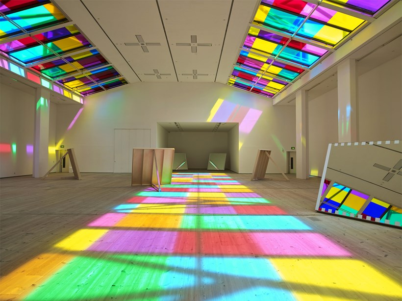Daniel Buren: Catch as catch can: works in situ (01)