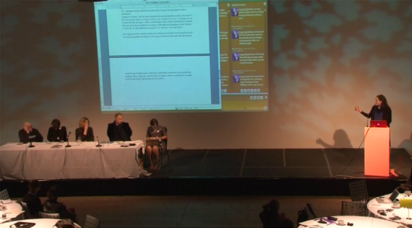 Commissioning & Collecting Variable Media Symposium: Video 07: Discussion of Reports and Summary