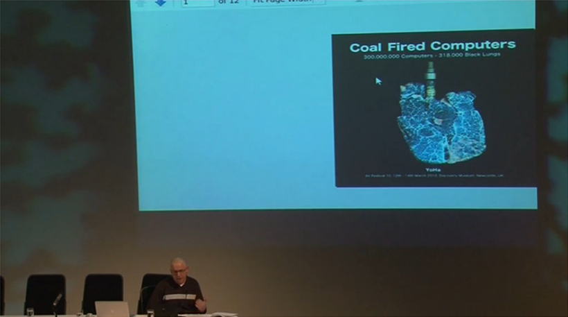 Commissioning & Collecting Variable Media Symposium: Video 04: Graham Harwood: Artist