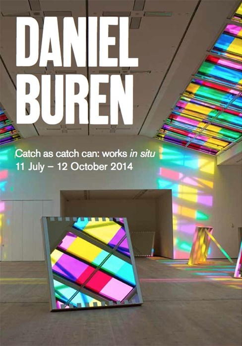Daniel Buren: Catch as catch can: works in situ: Interpretation Guide