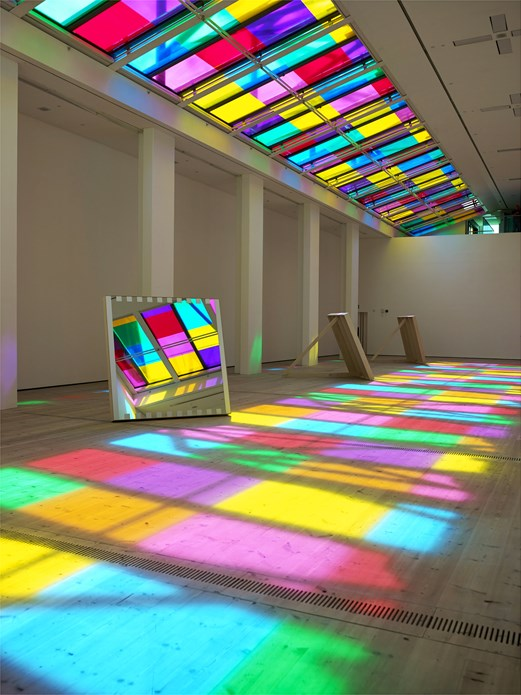 Daniel Buren: Catch as catch can: works in situ (05)