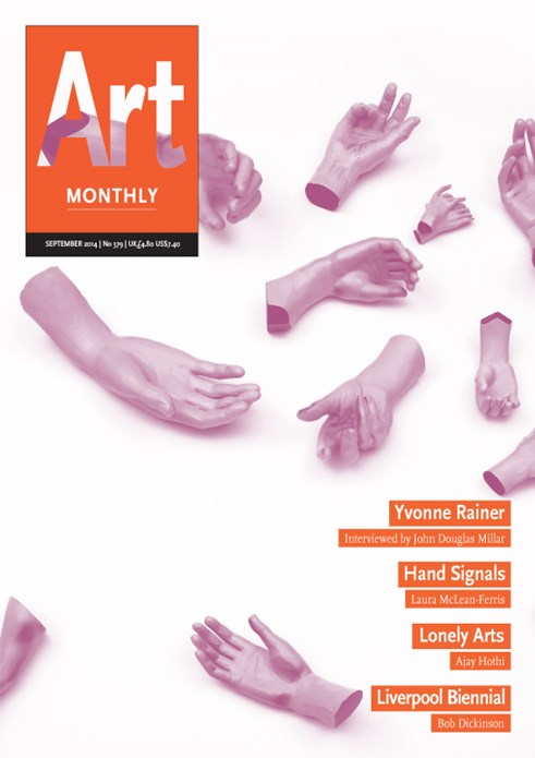 Art Monthly - No.379 - September 2014