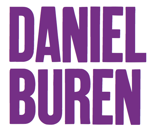 Daniel Buren: Learning Resource