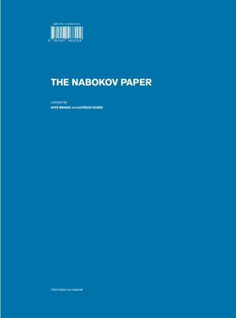 Nabokov Paper: Kate Briggs and Lucrezia Russo