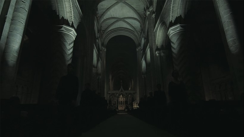 Random Acts: Ed Carter : False Lights of Durham (film still with link to film)