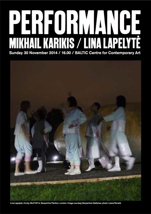 Mikhail Karikis / Lina Lapelyte: Performance: Event Flyer