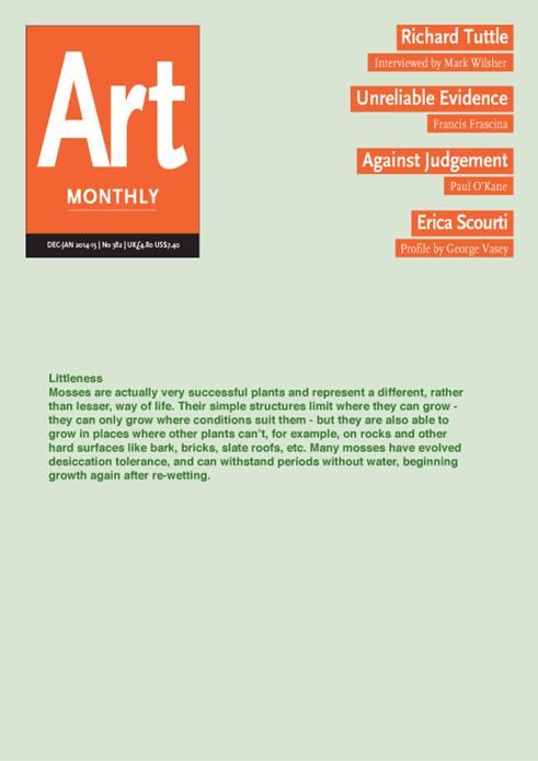 Art Monthly - No.382 - January 2015