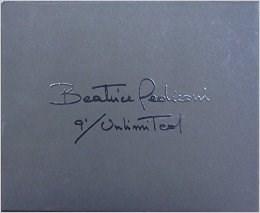 Beatrice Pediconi: 9' / Unlimited. Collezionemaramotti Artist Book