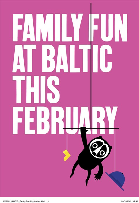 Family Fun at BALTIC this February