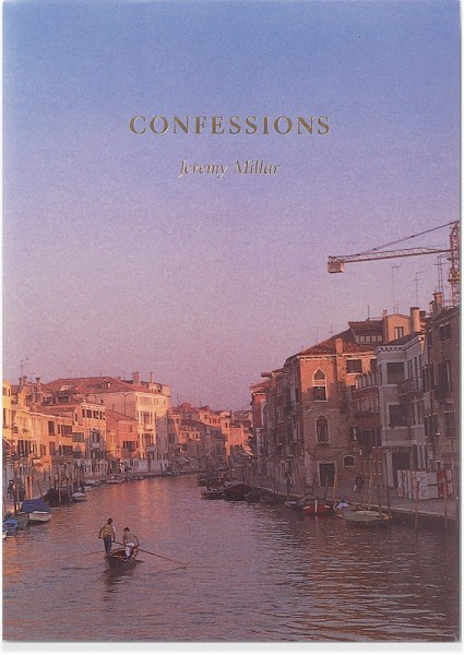 Jeremy Millar: Confessions