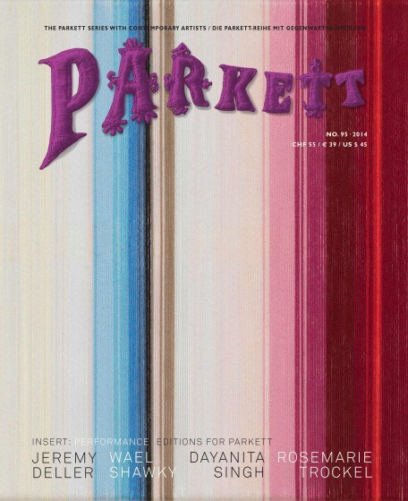 Parkett Magazine - No 95 - 2015