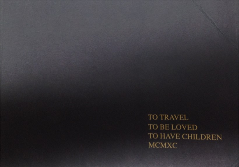 To Travel, To Be Loved, To Have Children MCMXC: Newcastle Polytechnic Fine Art Degree Show 1990