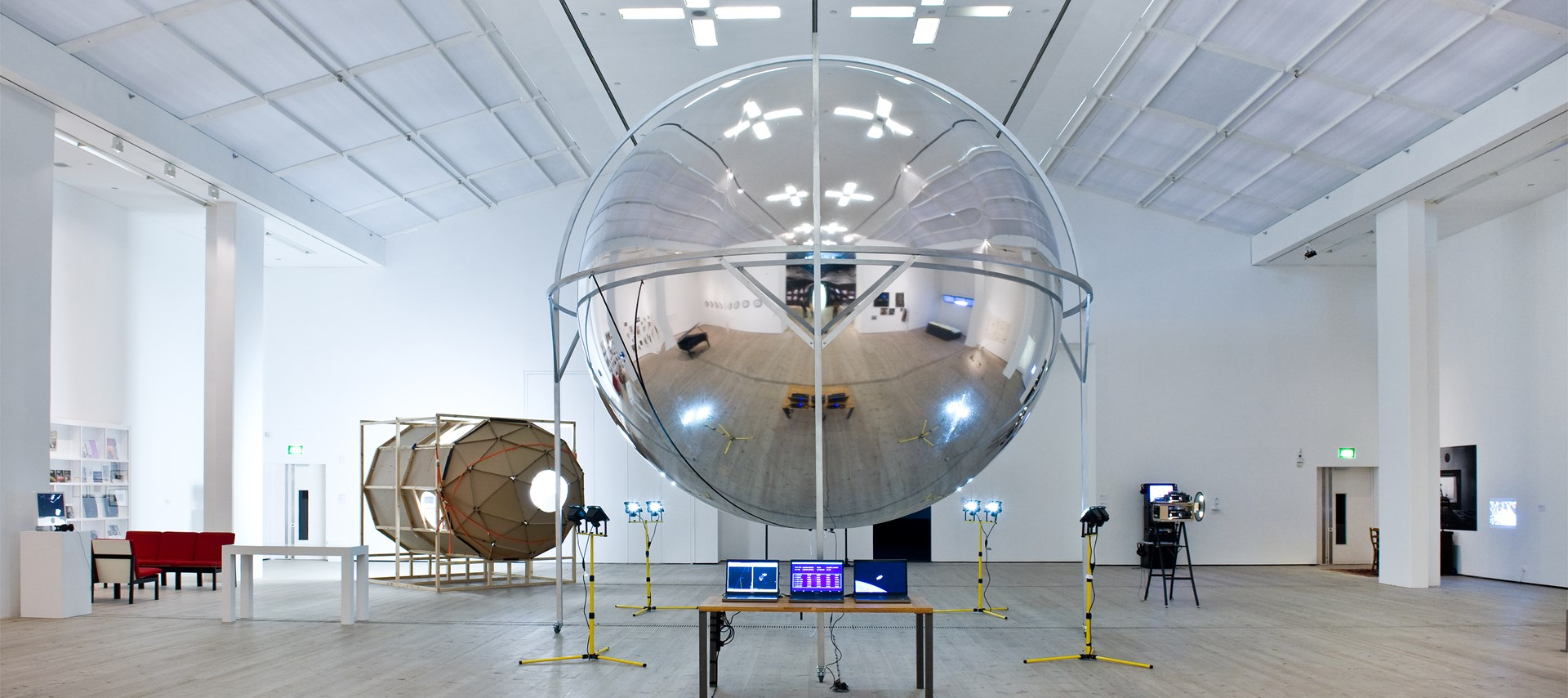 They Used to Call it the Moon: Installation image by Colin Davison