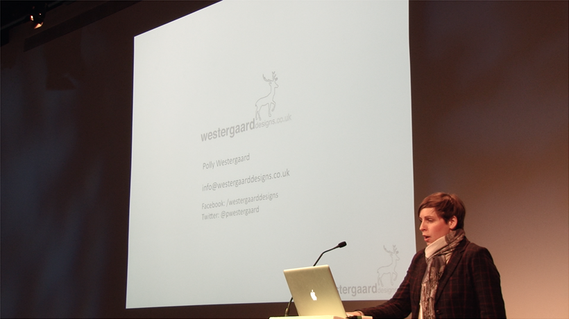 Creative Careers Day 2015 - DESIGN - Polly Westergaard