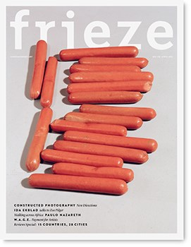 Frieze - Issue 170 - April 2015