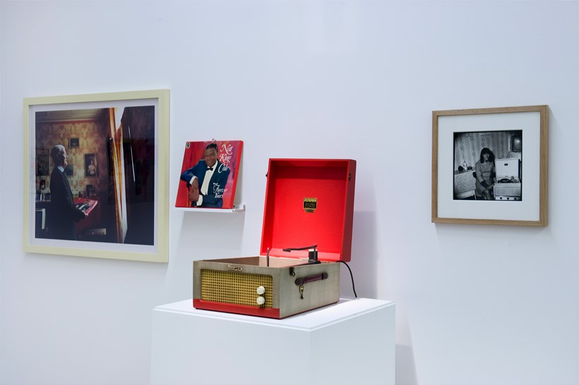 The Curves of the Needle: Julian Germain: Untitled photograph, 1992-2005 and 1960s Dansette player