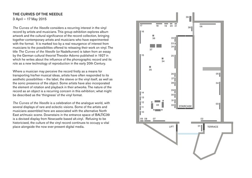 The Curves of the Needle: Floor Plan