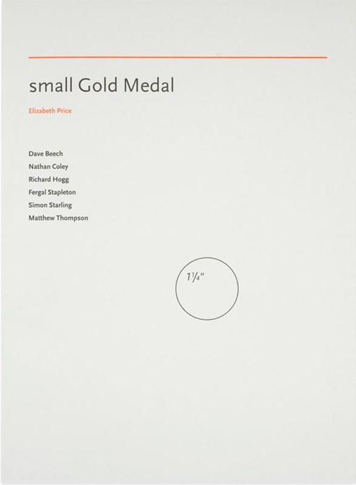 Elizabeth Price: small Gold Medal