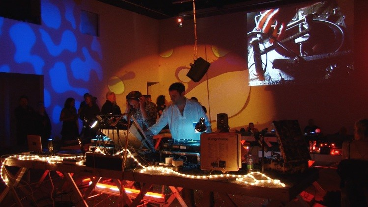 :zoviet*france: and Lathe Revival: Live Performance