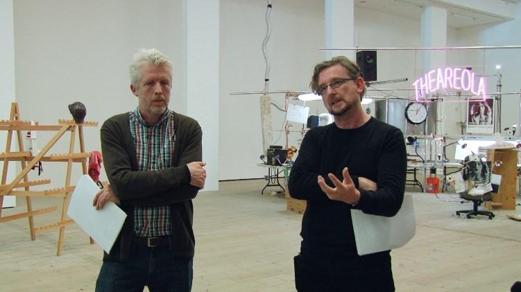 BxNU Symposium: Jason Rhoades / Deviant Paths: 04 - David Campbell and Mark Durden: Exhibition Walkthrough