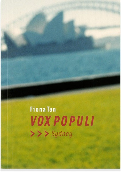Fiona Tan: Vox Populi, Sydney