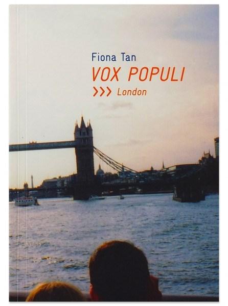 Fiona Tan: Vox Populi, London