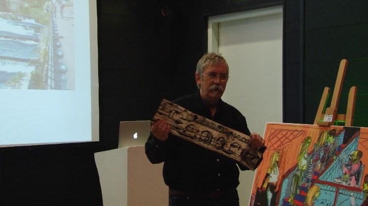 Artists' Book Market: Artist Talk: Hugh Bryden, Roncadora Press