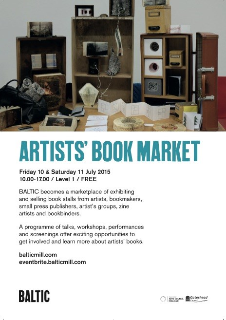 Artists' Book Market: Leaflet