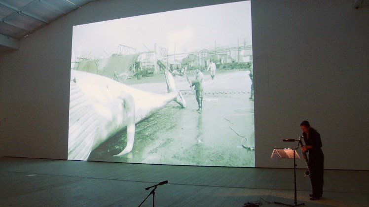 Fiona Tan: DEPOT: Live Performance of Leviathan and Me to Feggari