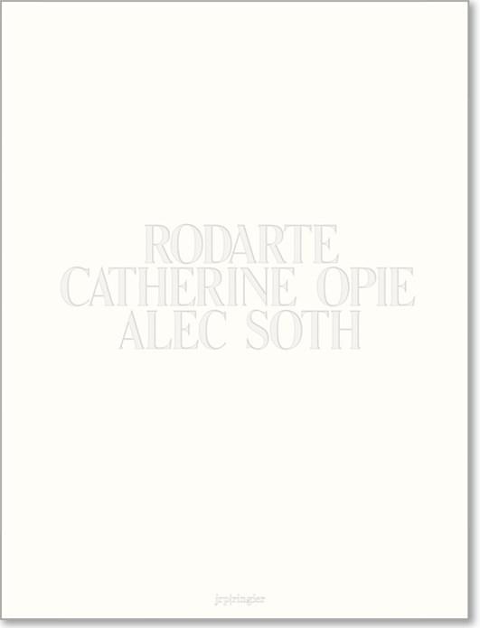 Rodarte, Catherine Opie, Alec Soth