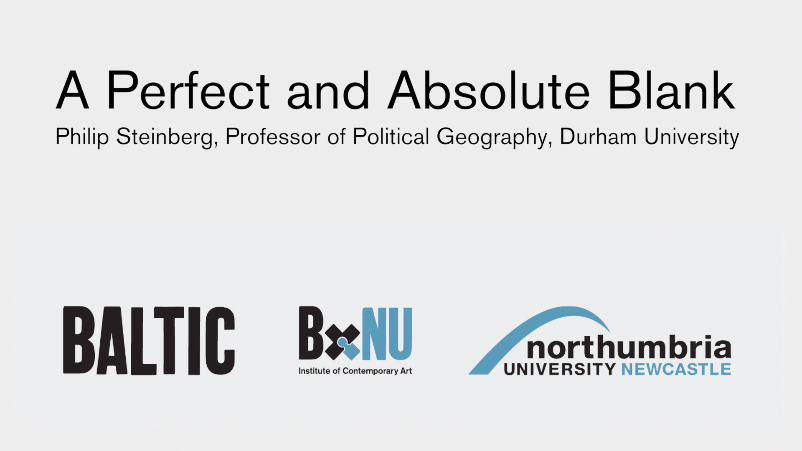 BxNU SYMPOSIUM: A Perfect and Absolute Blank (02): Philip Steinberg