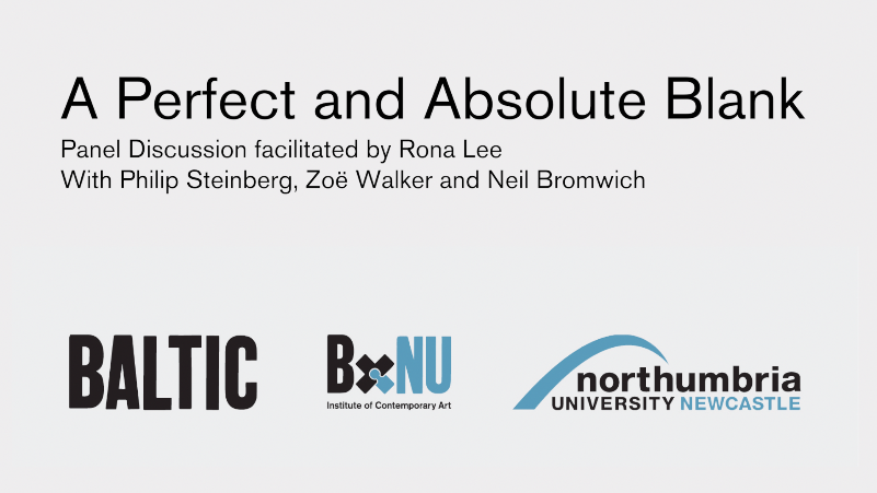 BxNU SYMPOSIUM: A Perfect and Absolute Blank (04): Panel discussion