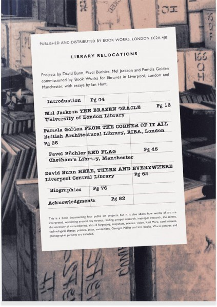 Ian Hunt: Library Relocations
