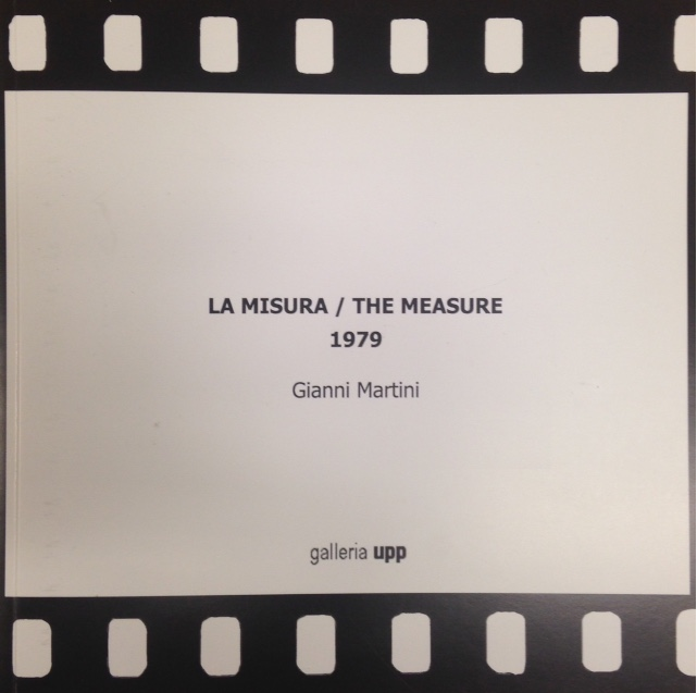 Gianni Martini: La misura : 1979