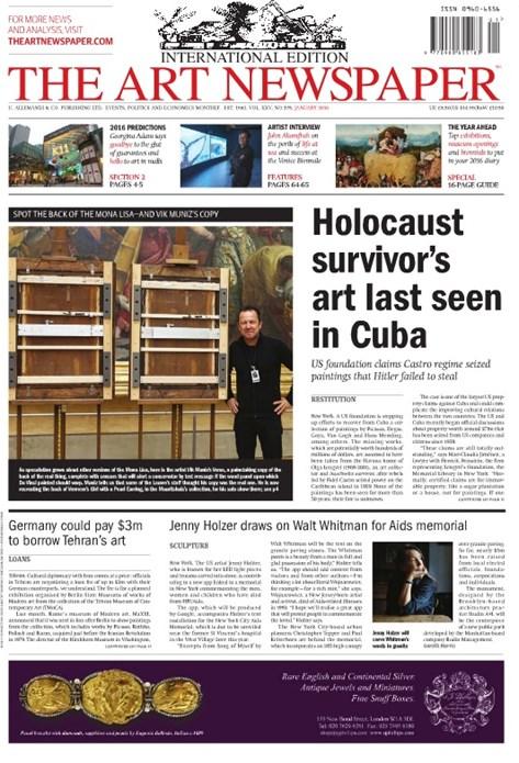 Art Newspaper - No. 275 - January 2016