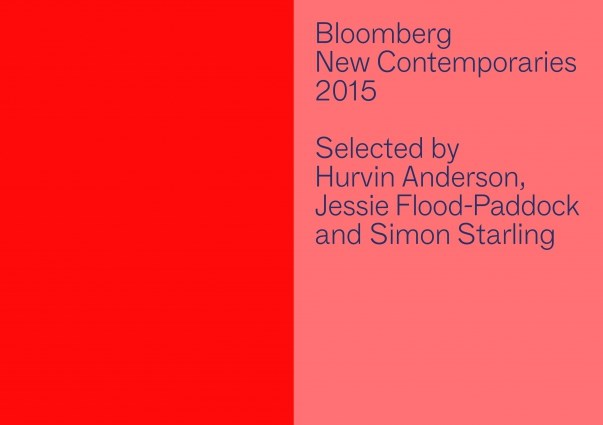 Bloomberg New Contemporaries 2015