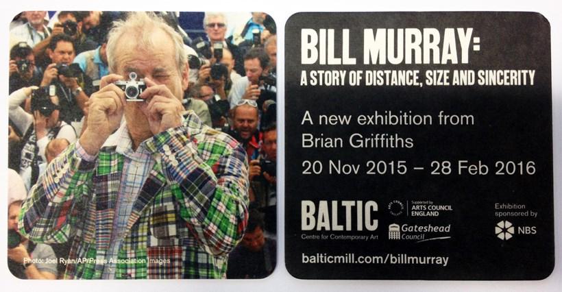 Brian Griffiths: BILL MURRAY: Beer Mat