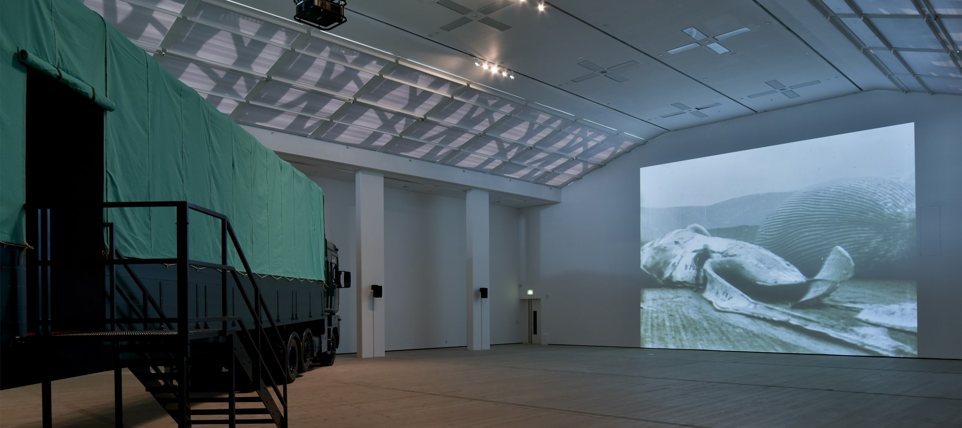 Fiona Tan: Leviathan,Installation view, BALTIC Centre for Contemporary Art. © 2015, BALTIC/Jonty Wilde