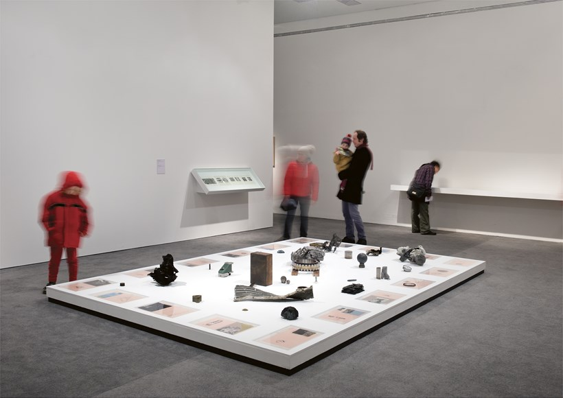Hajra Waheed: The Cyphers: Installation View (01)