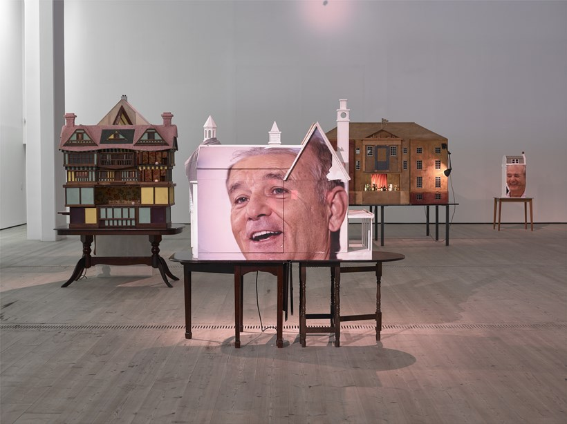 Brian Griffiths: BILL MURRAY: a story of distance, size and sincerity, 2015: Installation view (01)
